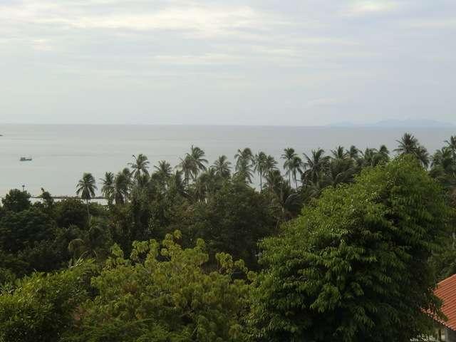 der Blick auf's Meer
