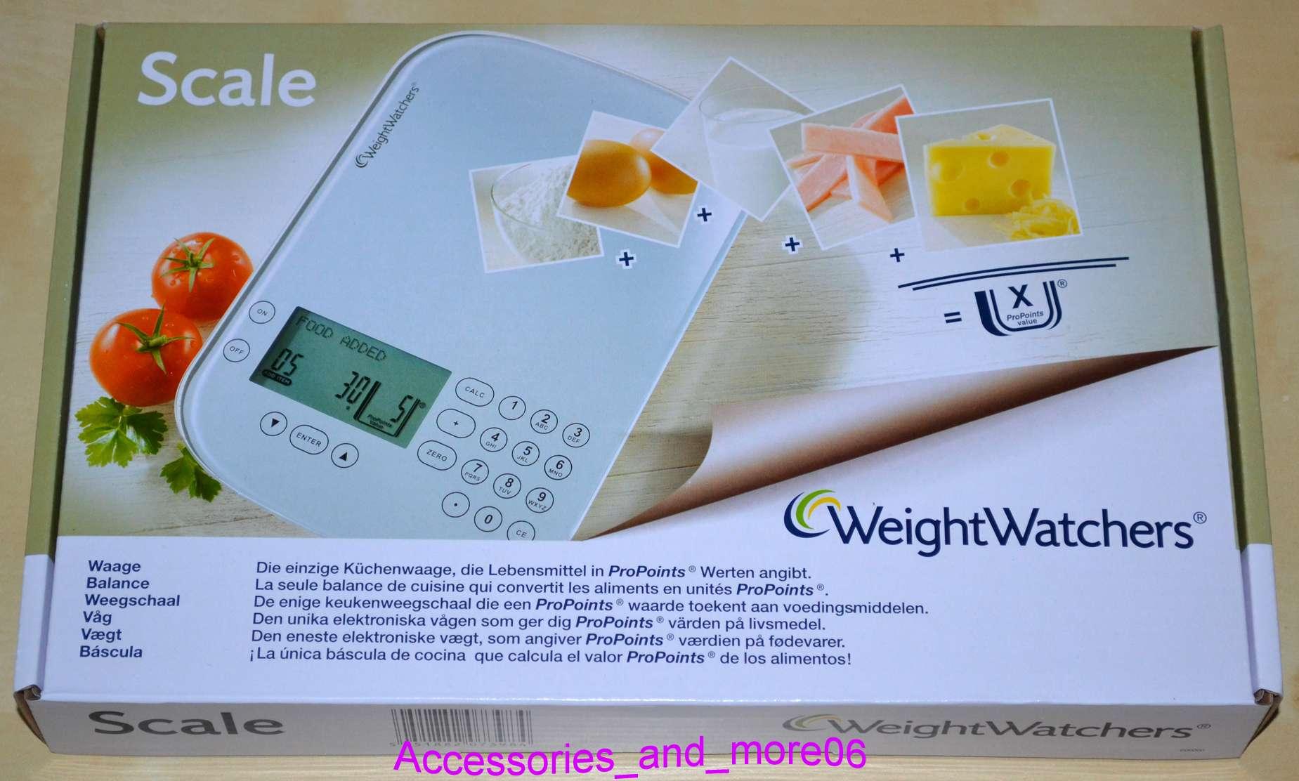 weight watchers propoints plan 2014 k chenwaage waage neu ovp 2014 tophit. Black Bedroom Furniture Sets. Home Design Ideas