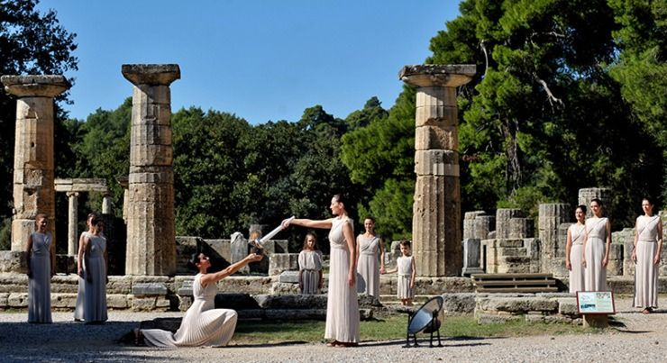 Олимпийский огонь «Сочи 2014» зажжется в древней Олимпии