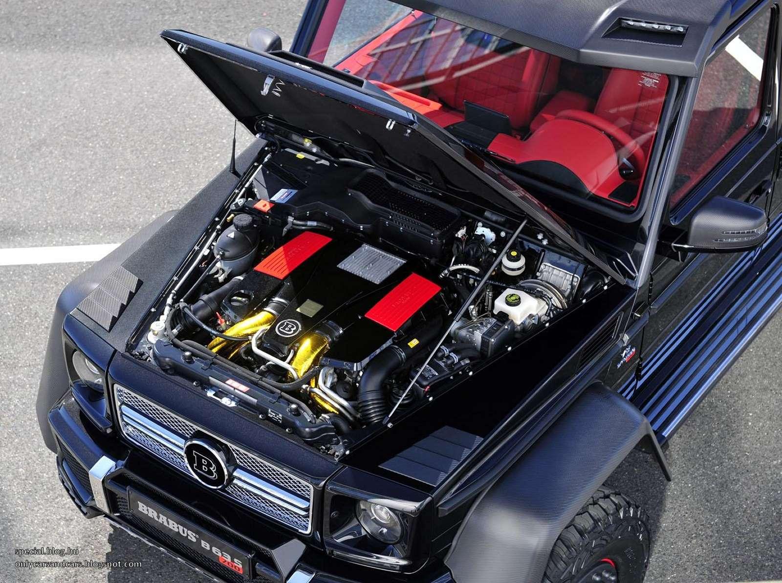 New engine offers v8 biturbo power