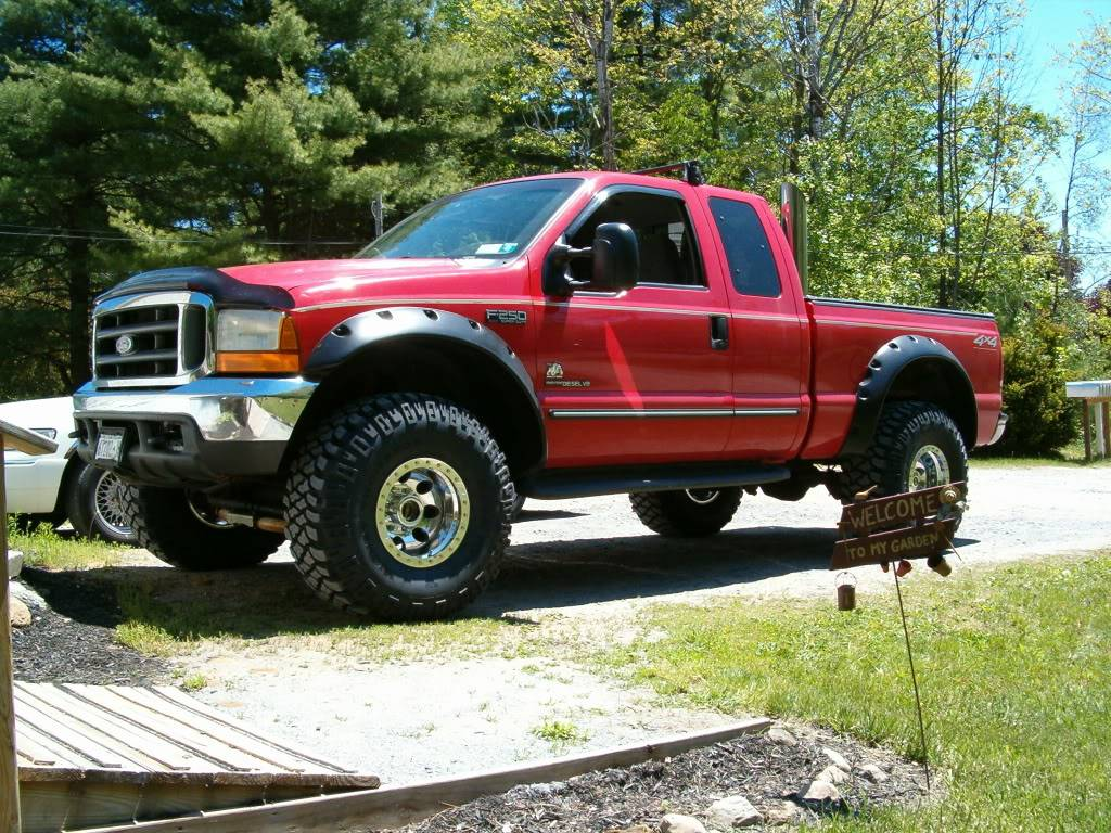 Fender Flares Ford F250 Checking Tire/Wheel/Lift combination - Ford Truck Enthusiasts Forums