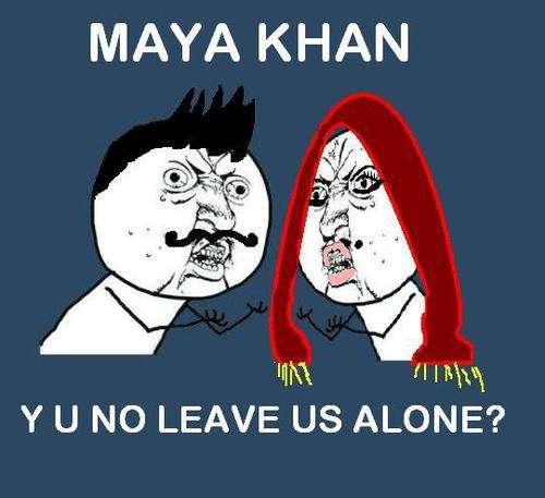 maya khan meme