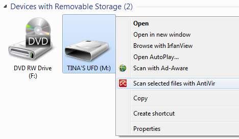 USB bellek veri korumak !