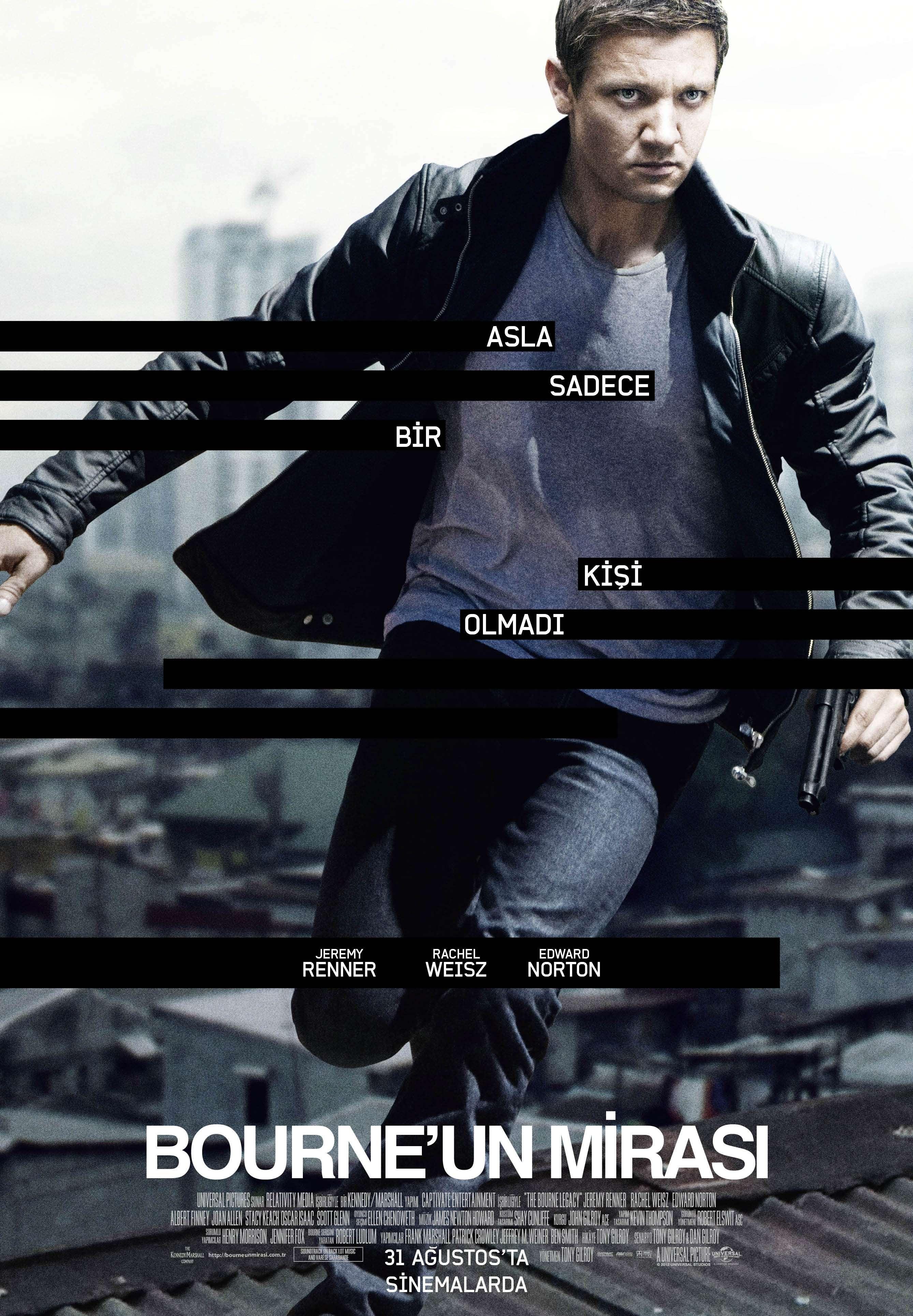 Bourneun Mirası - 2012 BRRip XviD AC3 - Türkçe Dublaj Tek Link indir