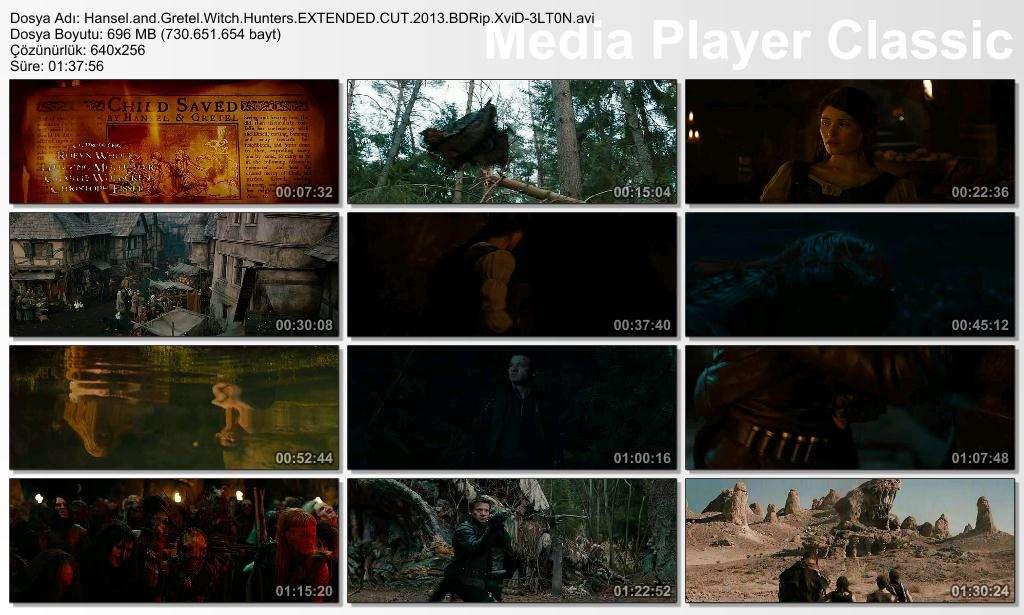 Hansel ve Gretel Cadı Avcıları - 2013 BDRip XviD - Türkçe Altyazılı Tek Link indir